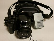 Canon SX530 HS camera with charger & battery & strap clean camera