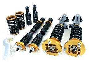 ISC Suspension For 00-05 BMW 325i / 328i / 330i / M3 E46 N1 Coilovers - B003-1-S
