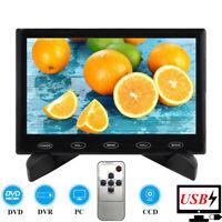 "Tragbare 7"" LCD CCTV PC Monitor Bildschirm HD 1024*600 HDMI USB-Stromversorgung"