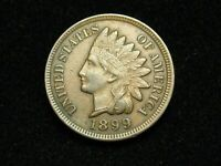SEMI-ANNUAL SALE!! XF 1899 INDIAN HEAD CENT PENNY w/DIAMONDS & FULL LIBERTY #58c