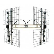 Focus Antennas 8 Bay Multi-directional  VHF/UHF Outdoor TV Antenna  FOCUS-8HD-90