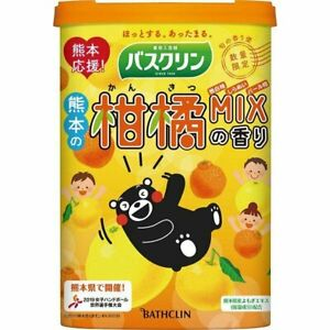 Japanese Bath Salts - Kumamoto citrus mix - Limited edition - 600 g