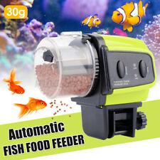 Automatic Fish Food Feeder Dispenser Adjustable Aquarium Tank Timer Auto
