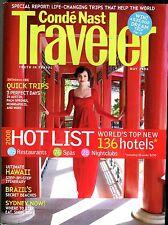 Conde' Nast Traveler Magazine May 2008 Top Hotels EX No ML 101516jhe