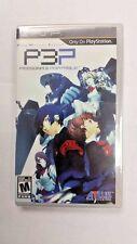 Shin Megami Tensei: Persona 3 Portable (PlayStation Portable, PSP) Brand New