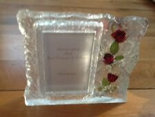 HAND MADE REAL ROSES PHOTO FRAMES