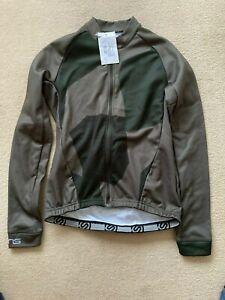 Skins Mens Camouflage Cycling Full Zip Jacket -Bottle Holders -BNWT - RRP £60-M