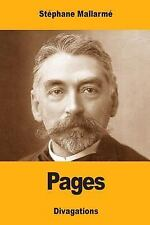Pages by Stéphane Mallarmé (2017, Paperback)