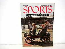Sports Illustrated Auto Racing Issue November 29 1954-No Label-Collectible