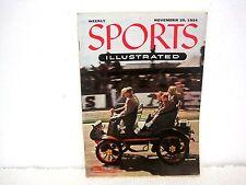 Deportes Illustrated AUTO RACING Número Noviembre 29 1954-no label-collectible