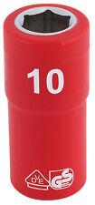 ORIGINAL Draper 0.6cm Cuadrado Dr. TOTALMENTE Aislado VDE Enchufe (10mm) 31473