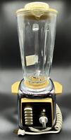 Vintage Hoover Ten-Speed Solid State Blender Model 8970 Chrome Gold Hard to Find