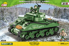 """COBI Sherman M4A3E2 """"Jumbo"""" (2550) - 720 elem. - WWII US medium tank"""