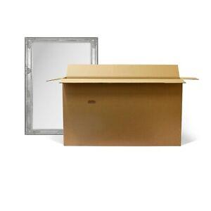 Mirror Large Cardboard Box Removal Shipping Boxes Postal Storage 147x22x90cm New