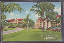 U.S. Veterans Hospital At Bay Pines St Petersburg Florida  Stamped 1946   # D5