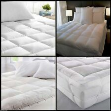 Available In All Sizes Luxury DUCK Feather & Down Mattress Topper Matress Cover