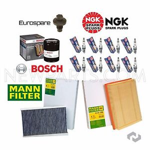 For Land Rover Range Rover Sport LR3 05-09 OEM Tune Up Kit with Plugs & Filters