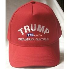 DONALD TRUMP RED CAP HAT MAKE AMERICA GREAT AGAIN NEW