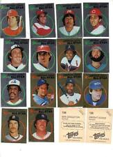 1982 Topps Baseball  Sticker Set (260) NRMT