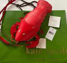 Kate Spade Lobster Crossbody Red Leather Love Shack Novelty Valentine Bag