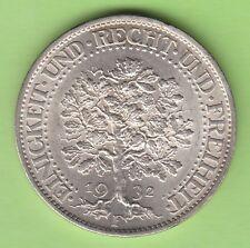 5 Reichsmark 1932 F Eichbaum fast Stempelglanz toll erhalten nswleipzig