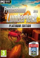 Professional Lumberjack 2015 Platinum Edition - SIMULATOR -PC DVD - New & Sealed