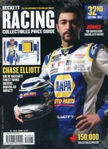 2021 Beckett Racing Collectibles Card Price Guide Magazine 32nd Ed Chase Elliott