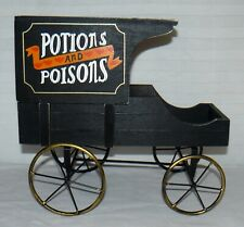 Marvel Legends Diorama Potions And Poisons Wooden Cart Metal Non Moving Wheels