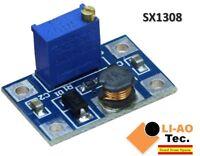 DC-DC SX1308 Step-UP Adjustable Step Up Boost Converter 2-24V to 2-28V 2A