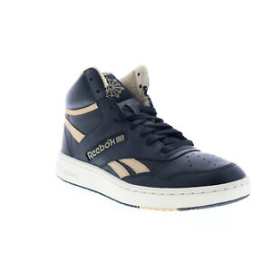 Reebok BB 4600 FV7351 Mens Black Lace Up Basketball Sneakers Shoes