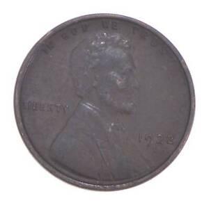 Semi Key 1922-D VF/XF Lincoln Wheat Cent - Sharp *540