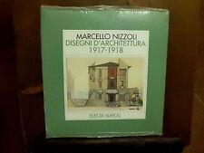 Marcello Nizzoli DISEGNI D'ARCHITETTURA 1917 1918 -  Electa 1992