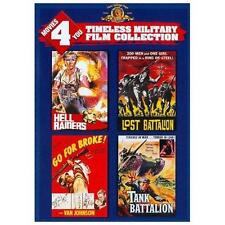 Movies 4 You: Timeless Military Film Collection (DVD, 2013) - Hell Raiders etc..