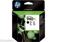 HP NO 940xl Negro Original Oem Cartucho de Tinta C4906AE Officejet