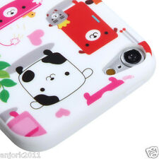Apple iPod Touch 5 CANDY SKIN TPU GEL COVER CASE ACCESSORY COLORFUL DOGS