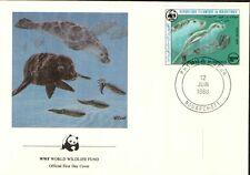 (70317) FDC  - Mauritania -Seals - 1986