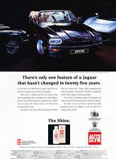 Jaguar XJS Museum Shine Wax - Original Car Advertisement Print Ad J155