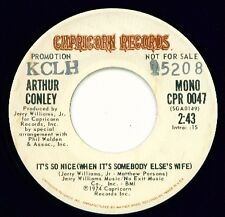 ARTHUR CONLEY - Capricorn 0047 - It's So Nice - DJ 45