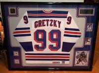 Wayne Gretzky Professionally framed New York Rangers Jersey CCM NHL