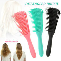 The EZ Detangler Hair Brush Anti-Static Scalp Comb Hair Brush Salon Styling Tool