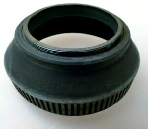 49mm Rubber Lens Hood Shade double threaded for 50mm f1.7 f1.8 f2 screw