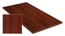 Tischplatte Schreibtisch Arbeitstisch Bürotisch Tisch in Nussbaum Holzoptik