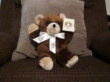 NEW Good Bears Of The World Plush Brown Teddy Bear Stuffed Animal NWT