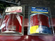 Fits 73 - 87 Chevy GMC Truck Taillight Pair Set NEW Chrome Trim Lens