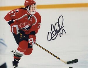 Cassie Campbell authentic signed autographed 8x10 photograph holo COA
