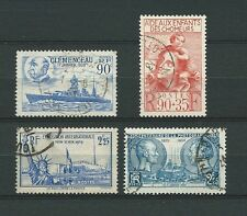 FRANCE - 1939 YT 425 à 428 - TIMBRES OBL. / USED