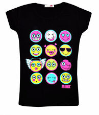 Vêtements T-shirt col rond pour fille de 5 à 6 ans