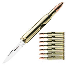 Böker Taschenmesser Gewehrpatrone Projektil Patrone Patronengurt Bullet Knife