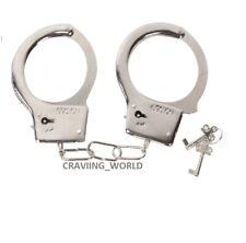 Novelty Steel Metal Handcuffs Keys Handcuff Hen Stag Night Sex Aid Policeman