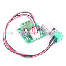 Mini DC 1.8V~15V 2A Motor Speed control with ON OFF Switch PWM